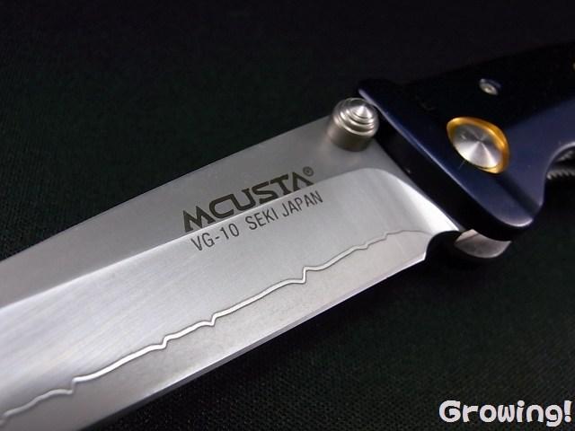 MCUSTA ナイフショップ グローイング!